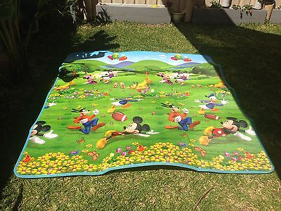 Baby toddler play pen mats Disney mickey mouse double sided super thick large