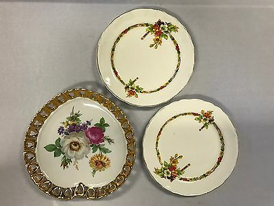 Two English Cake Plates And A Large Westminster Dish