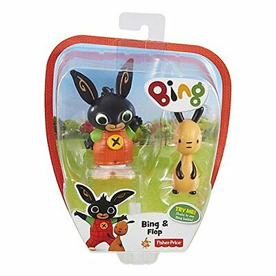 Fisher Price Bing Bunny Bing & Flop Shake To See Bing Bobble Brand New Cdy33