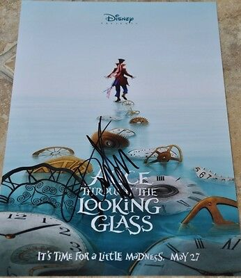 "Timothy Spall Signed 12"" x 8"" Colour Photo Alice Through The Looking Glass"