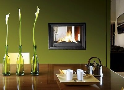 Invicta 700 Modern Double Sided Fronted Stove Fire Wood Burner Brand New