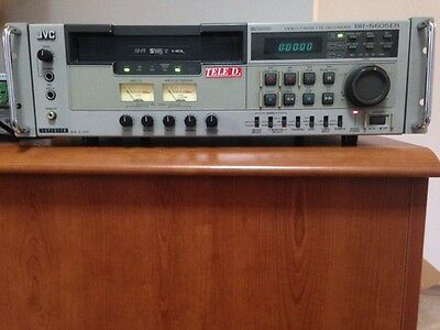 Jvc Br-S605Eb Video Registratore S-Vhs Professional