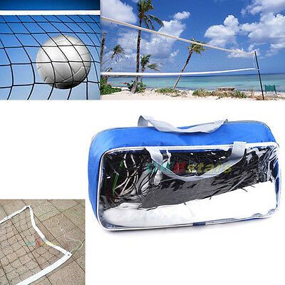32'×3' Volleyball Net Match Standard Official Size For Players Of All Levels #K
