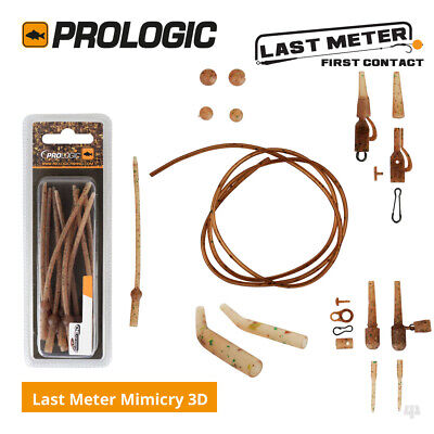 Prologic Last Meter Mimicry 3D Rig Components Range - Carp Coarse Fishing Tackle