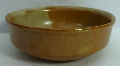 """WHITE MOUNTAIN pottery WHITE TOP pattern Cereal or Dessert Bowl 6-1/4"""""""