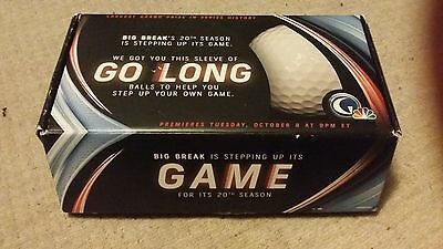 BIG BREAK 20th SEASON NFL GOLF PRESS KIT PROMO PROMOTIONAL ITEM RARE COMPLETE