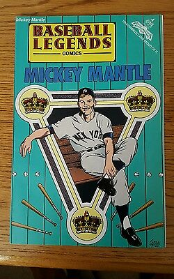 MICKEY MANTLE Baseball Legends Comics 1992 Issue 5 New In Bag 32 pages Yankees
