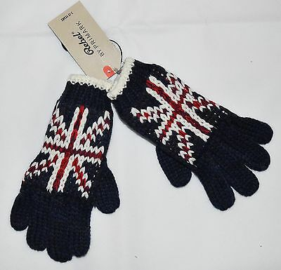 PRIMARK GLOVES Boys Kids Union Jack UK Flag GB British Great Britain NEW