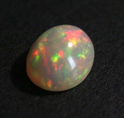 2.87ct Welo Crystal Opal Cabochon - Rainbow Flash AAA Jelly Opal - See Video