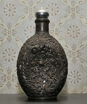 Antiquarian vase - a bottle in the Chinese style