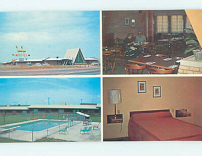 Unused Pre-1980 CHEROKEE MOTEL & RESTAURANT Perry Oklahoma OK M4100