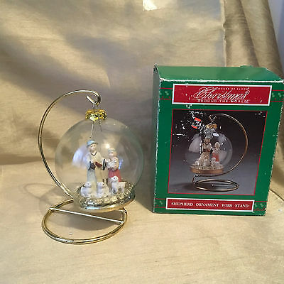 House of Lloyd Christmas Around the World Shepard Ornament w/ Stand