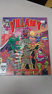 Villainy board game by Mayfair games. New.