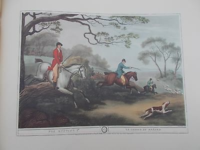 VINTAGE COLOUR PRINT Fox Hunting 4 ORME LONDON HOWITT HORSE