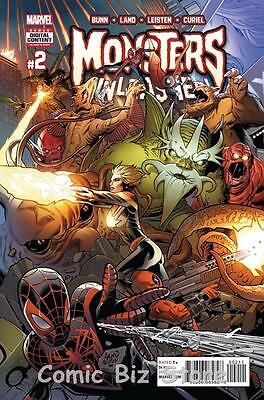 Monsters Unleashed #2 (Of 5) (2017) 1St Printing Bagged & Boarded Marvel Now