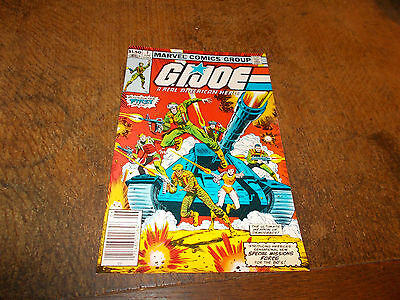 G. I. Joe - A Real American Hero #1 - June 1982 - Marvel Comics - Rare