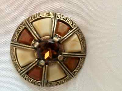 Vintage Celtic Design Scottish Brooch by Miracle
