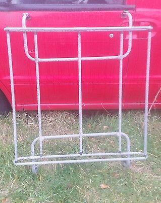 """Vintage Desmo Roof Rack Gutter Fixings 44""""x 36"""" X 11"""" Post Only Uk"""