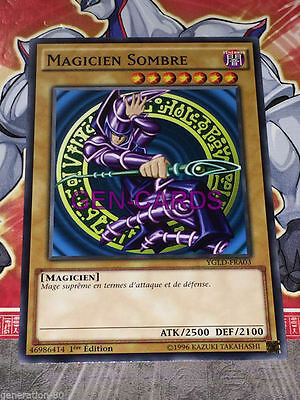 Carte YU GI OH MAGICIEN SOMBRE YGLD-FRA03