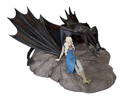*NEW* Game of Thrones: Daenerys and Drogon Statue by Dark Horse