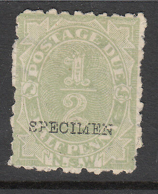 New South Wales - Postage Dues MH SD 1 Specimen