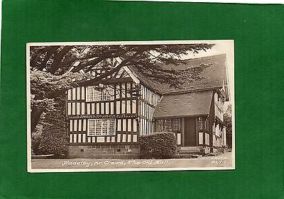Vintage Postcard The Old Hall Madeley Village (Near Crewe) in Staffordshire