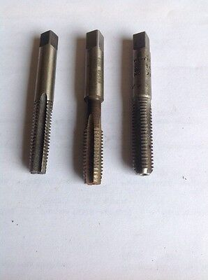 Complete Set of Goliath 3/8' x 16 UNC Taps - HSS - First & Second Taper + Plug