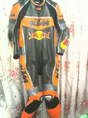 KTM Motorbike Leather Suit Motorcycle Racing Suit CE Armoured Any Colour/Size