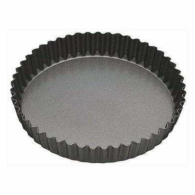 Master Class Fluted Flan Tin/Quiche Pan with Loose Base - 25 cm 10 inch