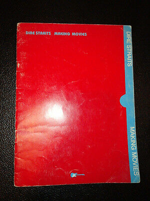 Lot of Dire Straits Songbooks Sheet Music Brothers in arms and Making Movies