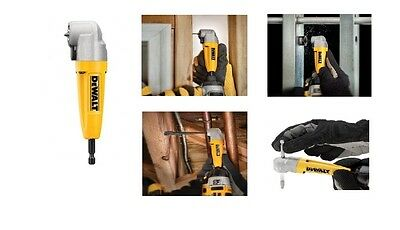 Right Angle Drill Adapter Attachment Impact Driver Dewalt Premium Power Tools