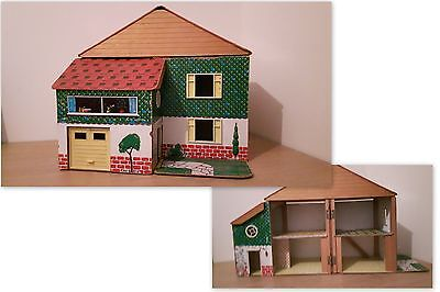 Vintage Lundby ? Toy Works ?Dolls house includes Furniture TLC Sturdy & Strong