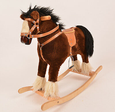 SMALL TITAN Beautiful Handmade Rocking Horse MADE IN EUROPE  from ALANEL