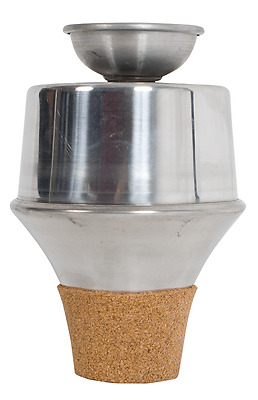 Trumpet mute, wow-wow model. Adjustable slide in the base alters tone.