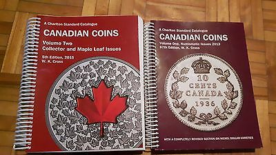 Canadian Coins Value Books - Volumes 1 (2013) and 2 (2015)