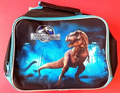 JURASSIC WORLD T REX Dinosaur LUNCH COOL BAG Insulated School Food HANDLE Kids