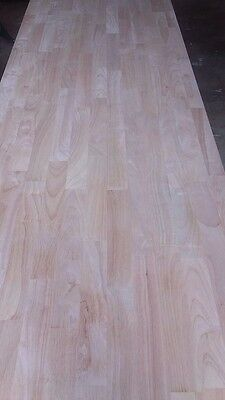 Tropical Hardwood Kitchen Benchtops - PARAWOOD - NEW 3600mm x 635mm x 30mm