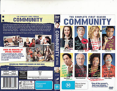Community-2009/15-TV Series USA-[The Complete First Season:4 Disc Set]-DVD