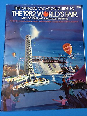 The Official Vacation Guide to the 1982 World's Fair in Knoxville