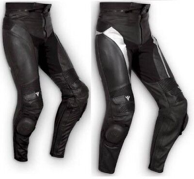 Pantalones Piel Naked Sport Moto Leather Protectores Sliders Técnico Deportivo