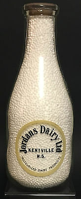 Rare - Jordans Dairy Ltd - Milk Bottle - Kentville, Nova Scotia