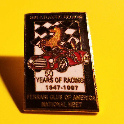 FERRARI Club of America 1997 Annual Meet Mid-Atlantic Lapel Pin FCA
