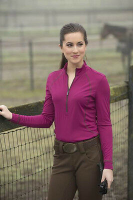 NEW FITS Karin Ladies Long Sleeve Shirt - Pink - Small to XLarge!