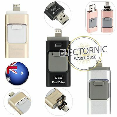 iPhone iFlash USB OTG Flash Drive Disk Storage Memory Stick For Android iOS iPad