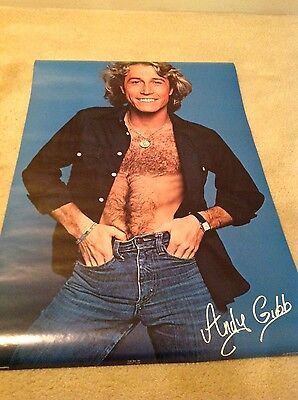 Andy Gibb vintage original poster bee gees brother