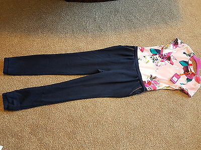 New With Tag Ted Baker Txt Mock Girls Jumpsuit Age 14 Years