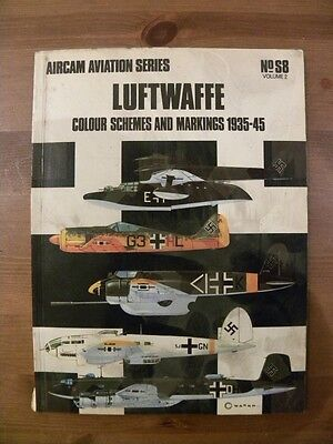 AIRCAM AVIATION SERIES - SPECIAL S8 Vol 2 - LUFTWAFFE COLOUR & MARKINGS 1935/45