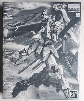 BANDAI MG 1/100 Impulse Gundam Blanche Premium Bandai limited scale model kit