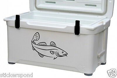 ATLANTIC COD Fish Fishing Decal / Vinyl Sticker for/ Boat / Car / Bait Bucket