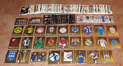 Fifa 365 French edition Huge Lot of 557 stickers NEW (22 exclusive)